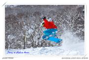 Jump to off piste, uploaded by FS360  [Akakura Onsen, Myoko City, Niigata]