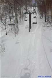 From the #3 pair lift , uploaded by Gunma Boarder  [White World Oze Iwakura, Katashina Village, Gunma]