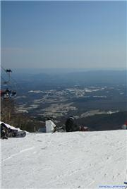 View from top of fast quad, late Dec. 2008, uploaded by Metabo Oyaji  [Mt Jeans Ski Resort Nasu, Nasu Town, Tochigi]