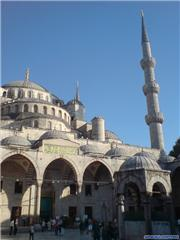 The Blue Mosque, uploaded by Mick Rich