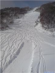 early morning lines, uploaded by Mick Rich  [Hakuba Cortina, Otari Village, Nagano]
