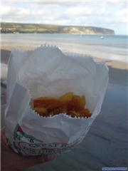 Fish & Chips by the seaside!, uploaded by Mick Rich