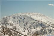 Tracks in the N Face of Yoichidake, uploaded by Mike Pow  [Kiroro Snow World, Akaigawa Village, Hokkaido]