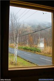 A room with a view - the view to Niseko Village's slopes from MQ (Mike's Quarters in Higashiyama), uploaded by Mike Pow  [Niseko Village Ski Resort, Niseko Town, Hokkaido]