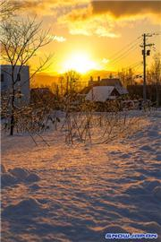 Sunrise, uploaded by Mike Pow  [Niseko Village Ski Resort, Niseko Town, Hokkaido]