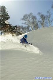 Ian MacKenzie in the powder, uploaded by Mike Pow  [Sapporo Kokusai, Sapporo City, Hokkaido]
