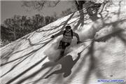 Ian MacKenzie skiing Spring powder, uploaded by Mike Pow  [Kiroro Snow World, Akaigawa Village, Hokkaido]