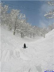 Getting ready to jump. (and eat a faceful)\r\n, uploaded by MrSingh  [Niseko Village Ski Resort, Niseko Town, Hokkaido]
