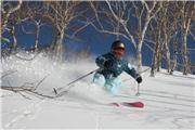 Wanaka Yoko, one of the best local junior skiers around Niseko, uploaded by Niseko Village  [Niseko Village Ski Resort, Niseko Town, Hokkaido]