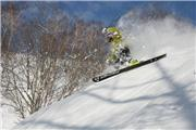 Hideaki Imaizumi turnign away from the camera, uploaded by Niseko Village  [Niseko Village Ski Resort, Niseko Town, Hokkaido]
