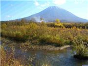 Autumn colour and early snow on Yotei 18 Oct., uploaded by NisekoNow  [Niseko Mountain Resort Grand Hirafu, Kutchan Town, Hokkaido]