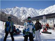 The weather was fantastic. 1st day at 47 & Goyra\r\n, uploaded by Ross  [Hakuba Happo-one, Hakuba Village, Nagano]
