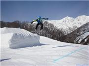 Blayze Happo\\'s terrain park.Boy\\'s voted it best one in Hakuba this year. Thanks to the Happo digger\\'s that kepted it prime\r\n, uploaded by Ross  [Hakuba Happo-one, Hakuba Village, Nagano]