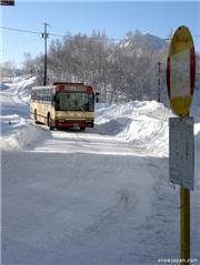 Shiga Kogen Shuttle Bus. Kidoike. Feb 4, 2009. Photo: Meg Yamagute., uploaded by ShigaKogenNow