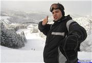 January 2007, digging the snowblades!, uploaded by dgparent  [Washigatake, Gujo City, Gifu]