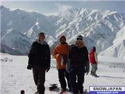 with barok and Mike at 47, uploaded by enderzero  [Hakuba 47 Winter Sports Park, Hakuba Village, Nagano]