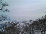 View from top-Takasu, uploaded by jblythwarren  [Takasu Snow Park, Gujo City, Gifu]