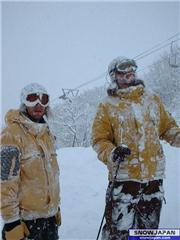 26th Jan, Andy&Hugh, uploaded by slow  [Hakuba Happo-one, Hakuba Village, Nagano]