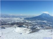 View from the top lift of Hanazono, uploaded by tabaluka  [Niseko HANAZONO Resort, Kutchan Town, Hokkaido]